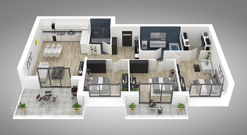 un logement neuf personnalisé